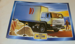 DAF FT2500 1988 Truck framed picture